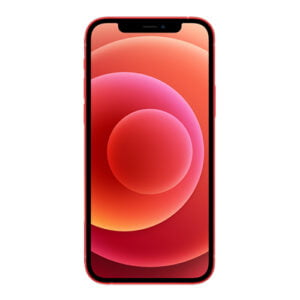iPhone 12 red front image