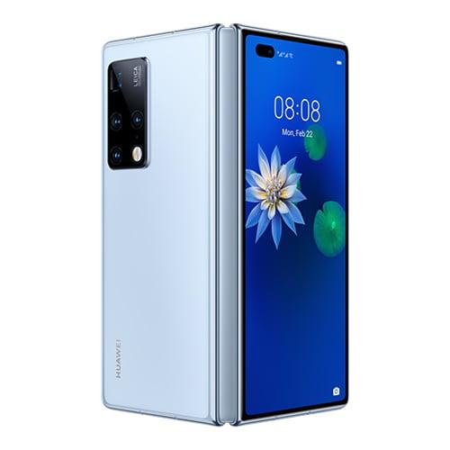 Huawei Mate X Folded white back image