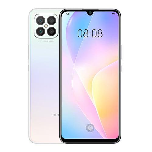 Huawei Nova SE Front and White back image