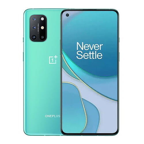 Oneplus 8T Front Display and Green Back
