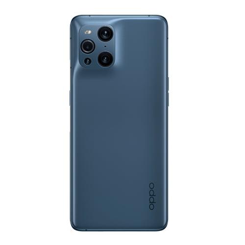 OPPO Find X3 Blue Back