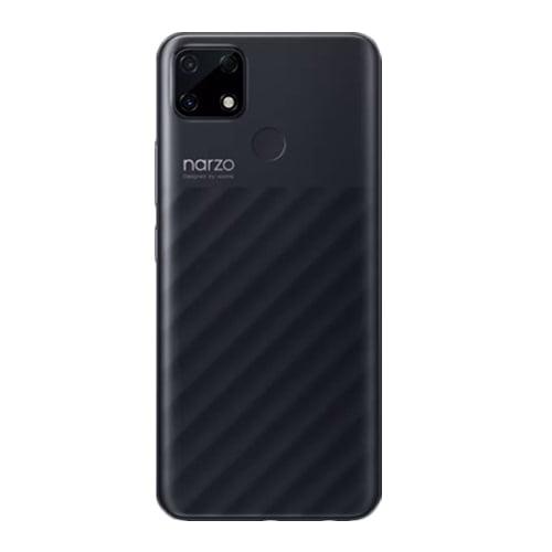 Realme Narzo 30A laser black back