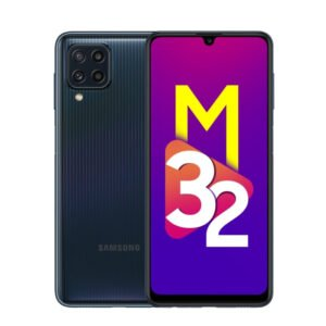 Samsung M32 Black Back and Front