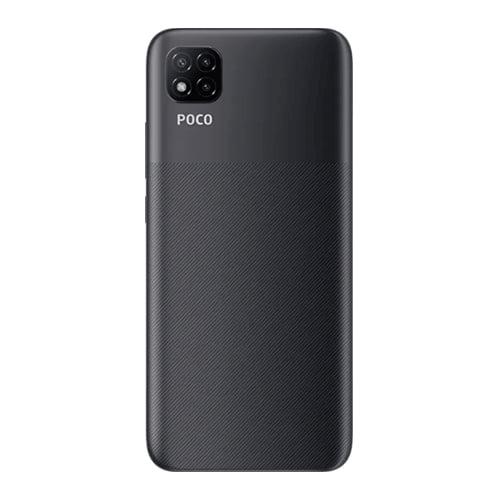 Xiaomi Poco C3 black back
