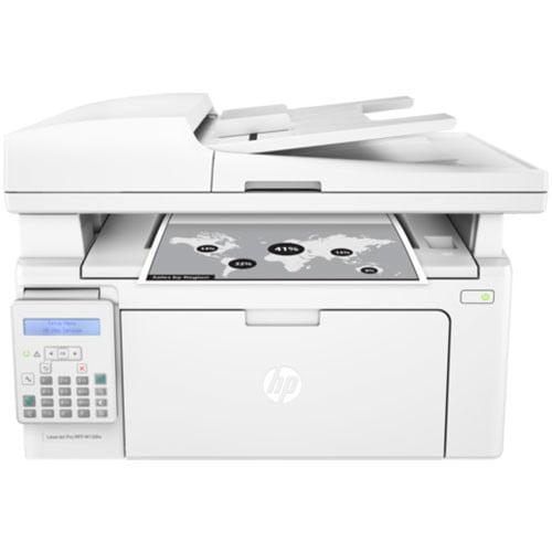 HP LaserJet Pro MFP M130fn Printer Front Display