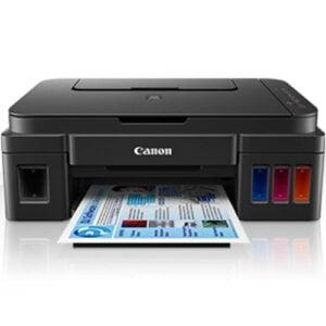 Canon PIXMA G3400 Wireless Printer Front Display