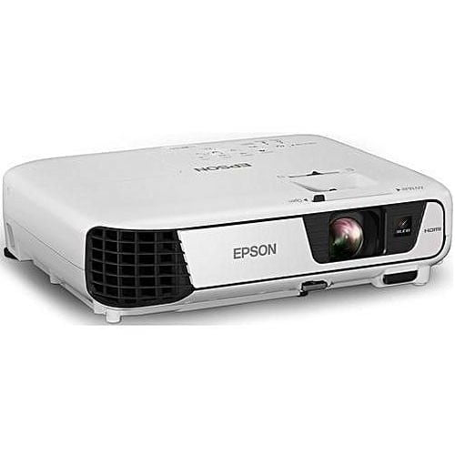 Epson EB-S31 Versatile Projector Front and Side Display