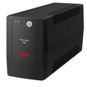 APC Back-UPS 650VA, 230V, AVR, Universal Sockets