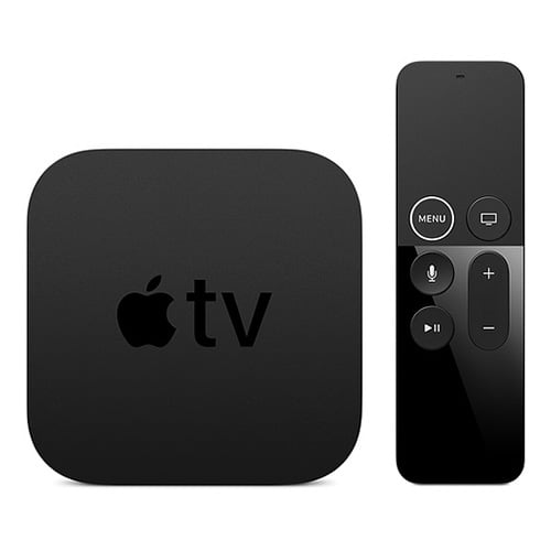 Apple TV 4K 32GB Front Side with Remote
