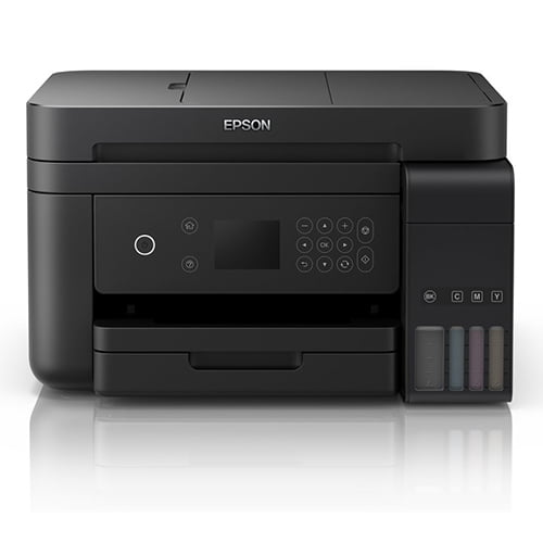 Epson L6170 Wi-Fi Duplex All-in-One Ink Tank Printer with ADF Front Display Black