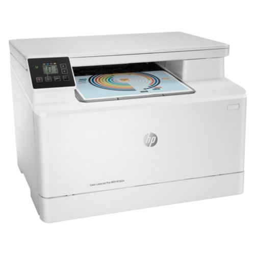 HP Color LaserJet Pro MFP M182n Printer Front side Display