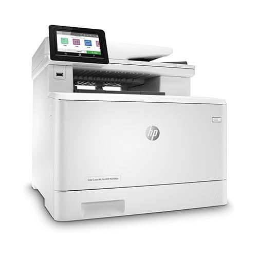 HP Color LaserJet Pro MFP M479fdn Printer Front Side Display
