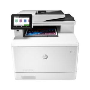 HP Color LaserJet Pro MFP M479fdw Printer Front Display