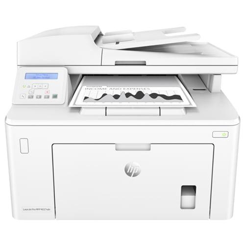 HP LaserJet Pro M227sdn Printer Front Display