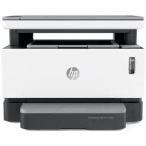 HP Neverstop Laser MFP 1200a Printer front Display