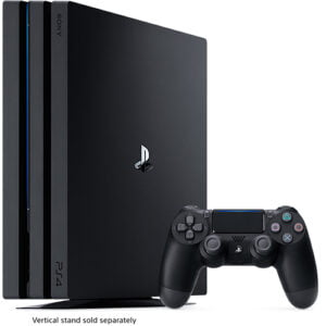 PS4 Pro: 4K Gaming - 8GB RAM - 1TB ROM Console and Gaming Pad Black