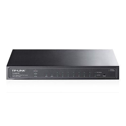 TP-Link TL-SG2210P 8-Port Gigabit Smart PoE Switch with 2 SFP Slots