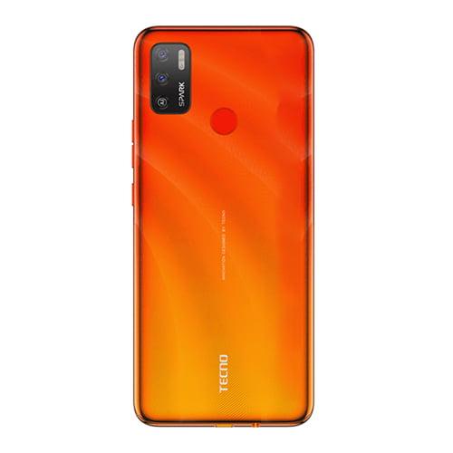 Tecno Spark 5 Air Back Display Spark Orange