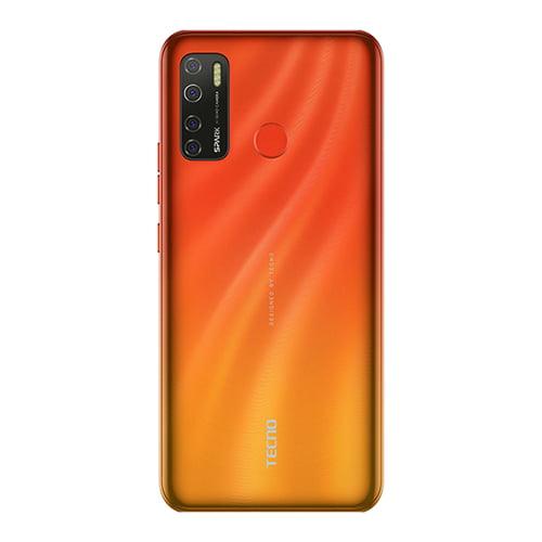 Tecno Spark 5 Pro back display Spark Orange