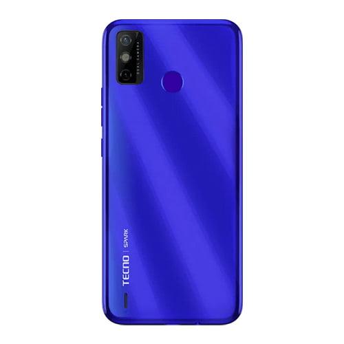 Tecno Spark Go 2020 Back Display Aqua Blue