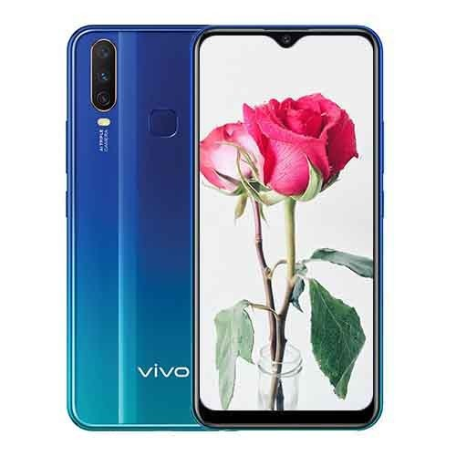 Vivo Y12 Front and Back Display