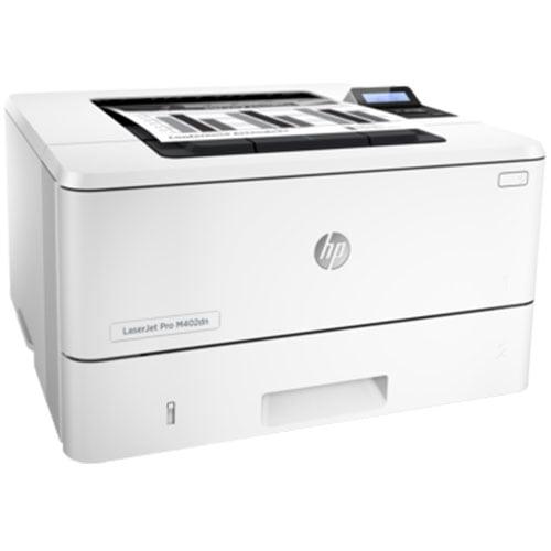 HP LaserJet Pro M402dn Wireless Printer Front Side Display