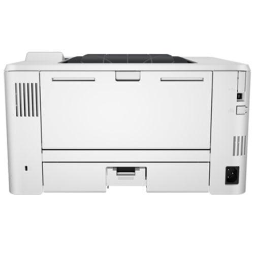 HP LaserJet Pro M402dn Wireless Printer Back Display