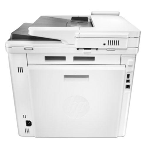 HP Color LaserJet Pro MFP M477fdw Wireless Printer Back Display
