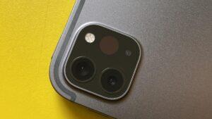 Apple Ipad Pro 11 2020 Camera layout