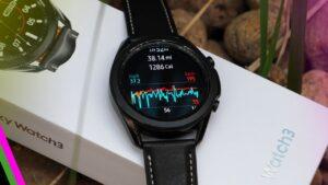 Samsung galaxy watch 3 Workout