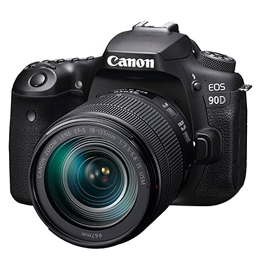 Canon EOS 90D DSLR Camera and EF-S 18-135mm IS STM Lens