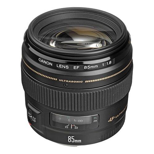Canon EF 85mm f/1.8 USM Camera Lens
