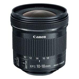 Canon EF-S 10-18mm STM Camera Lens