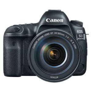 Canon EOS 5D Mark IV DSLR Camera (EF 24-105 F/4L IS II USM)