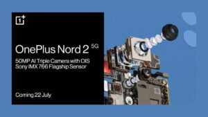 OnePlus Nord 2 5G Camera Details