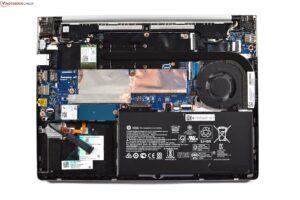 HP ProBook 430 8g opened