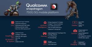 Qualcomm SM7225 Snapdragon 750G 5G