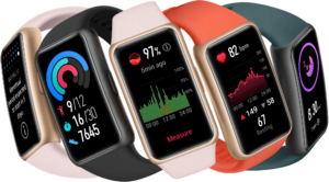 Huawei Band 6 activity tracking