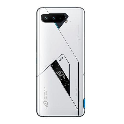 Asus ROG 5 back side IMage - White color